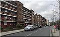 TQ3276 : Flats on Lilford Road, Camberwell, south London by Robin Stott