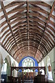 SX1291 : Roof of St Juliots Church by Nigel Mykura