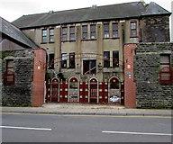 SS9992 : Ornate gates, Dunraven Street, Tonypandy by Jaggery