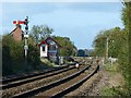 SK1930 : The traditional railway at Scropton by Alan Murray-Rust