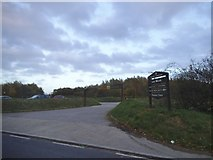 TQ5683 : The entrance to Cely Woods car park by David Howard