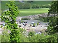 SJ0843 : Corwen station car park by Stephen Craven