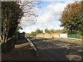 NZ3364 : Bridge over the Metro lines, Monkton Terrace, Jarrow by Graham Robson