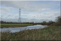 SK3527 : The River Trent by Malcolm Neal