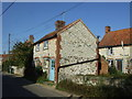 TF8541 : Small cottages, Burnham Thorpe by JThomas