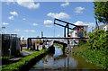 SJ8947 : Ivy House Lift Bridge near Hanley, Stoke-on-Trent by Roger  Kidd