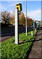 ST3090 : Yellow speed camera, Bettws Lane, Newport by Jaggery