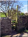 SD8240 : A gate to the footpath by Steve Daniels