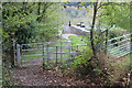 ST2391 : Kissing gate near Monmouthshire & Brecon Canal by M J Roscoe