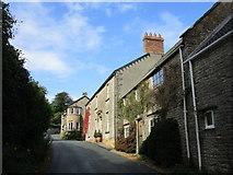 ST5707 : The village street Melbury Osmond by Jonathan Thacker