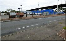 NS4865 : Yard at Abbotsinch Road by Thomas Nugent