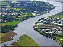 NS4870 : The River Clyde from the air by Thomas Nugent