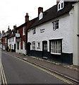 SU1868 : Grade II listed The Cloisters, High Street, Marlborough by Jaggery