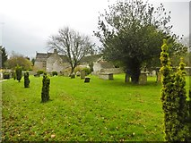 ST6601 : Cerne Abbas, burial ground by Mike Faherty