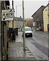 ST0090 : Old-style direction sign, Brook Street, Williamstown by Jaggery