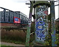 SK5805 : New footbridge across the Grand Union Canal by Mat Fascione