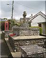 SX8050 : War Memorial, Main Street, Blackawton by Robin Stott