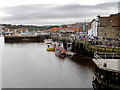 NZ8911 : Whitby Harbour, New Quay by David Dixon