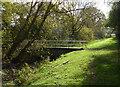 SK8733 : Footbridge across the feeder to Denton Reservoir : Week 44