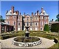 SJ0478 : Bodrhyddan Hall parterre by Gerald England