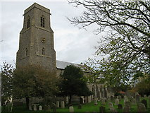 TG2834 : St Botolph's Church, Trunch by G Laird