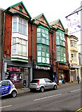 SS9992 : Four Dunraven Street businesses, Tonypandy by Jaggery