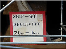 NS3274 : Hull 801 at Ferguson Marine Shipyard by Thomas Nugent