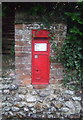 TF7632 : Victorian postbox on the B1153, Great Bircham by JThomas