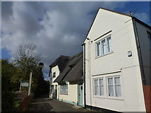 TL4196 : Former White Horse Inn on West End, March by Richard Humphrey