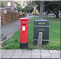 TF6740 : George VI postbox on Cliff Parade, Hunstanton by JThomas