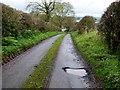 H5566 : A pothole along Kilcam Road by Kenneth  Allen