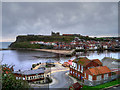NZ8911 : Scotch Head, Whitby Harbour by David Dixon