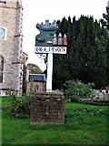 TG1022 : Reepham Town Sign by G Laird