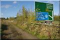 SP4970 : Alongside the A45 by Stephen McKay