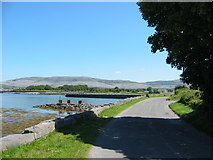 M2208 : Looking back on the road from Ballyvaughan by Martin Kerans