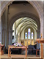 TQ1404 : Interior  of  St  Mary's  Broadwater by Martin Dawes