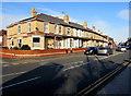 SJ0080 : Wellington Road towards Rhyl town centre by Jaggery