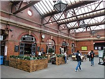 SP0786 : A Birmingham Railway Station by norman griffin