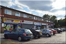 SU8594 : Row of shops, Brindley Avenue by N Chadwick