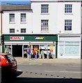 SY4692 : Spar and Subway, East Street, Bridport by Jaggery