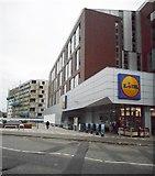 NS5566 : Lidl supermarket, Partick by Richard Sutcliffe