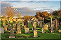 NT1166 : Old Kirkyard by Anne Burgess
