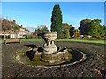 NS3975 : The Kilmahew Fountain by Lairich Rig