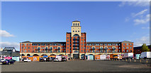 SO9198 : Market Place in Wolverhampton by Roger  Kidd
