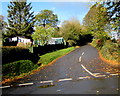 SO3717 : Minor road to Llangattock Lingoed by Jaggery