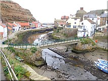 NZ7818 : Staithes Beck by Oliver Dixon