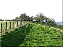 NZ1858 : Footpath near Gibside Hillhead by Andrew Curtis