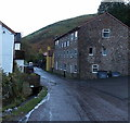 SO4494 : Three-storey building, Carding Mill Valley, Church Stretton by Jaggery