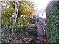 SE0837 : Footbridge over Harden Beck, Harden Park by Humphrey Bolton