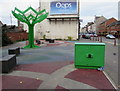 ST3186 : Green part of Commercial Road, Newport by Jaggery